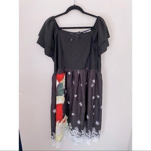 Kitschy Christmas Dress NWT